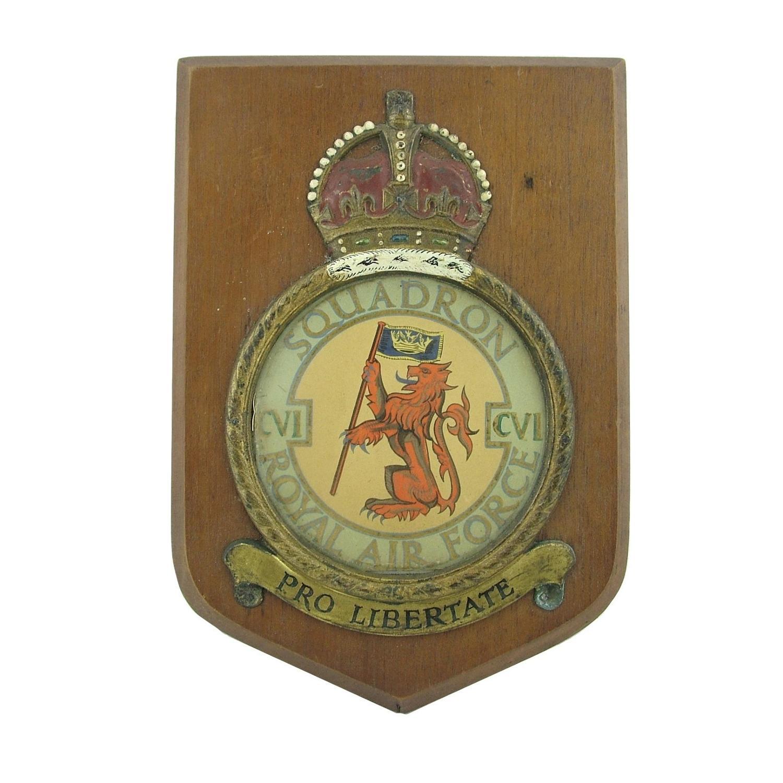 RAF 106 Squadron plaque