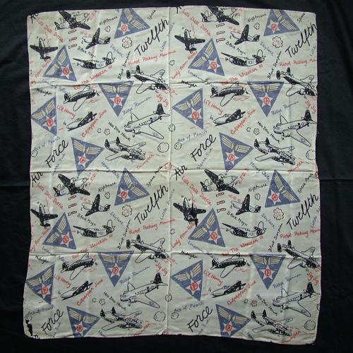 USAAF 12th AAF scarf