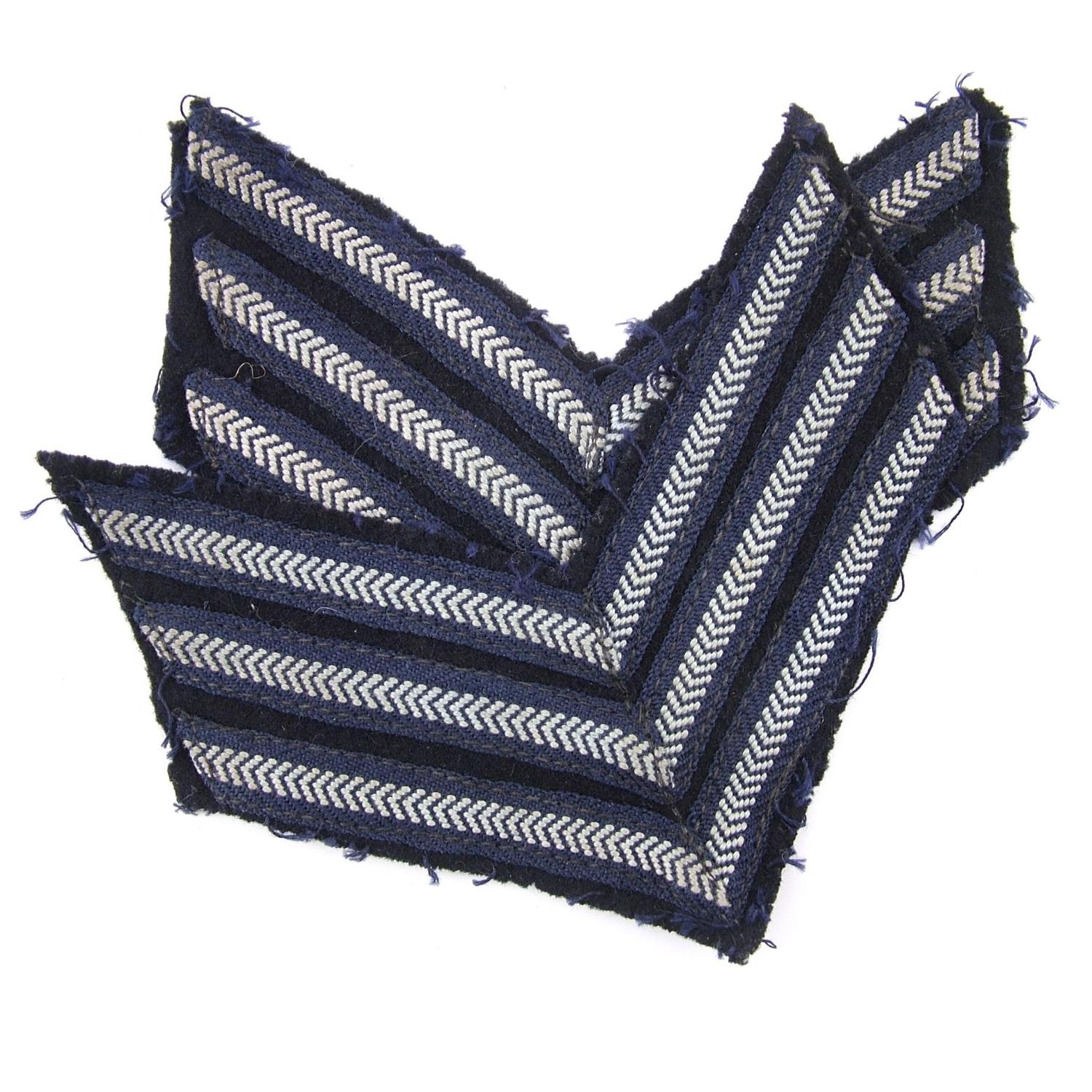 RAF sergeant stripes, pair