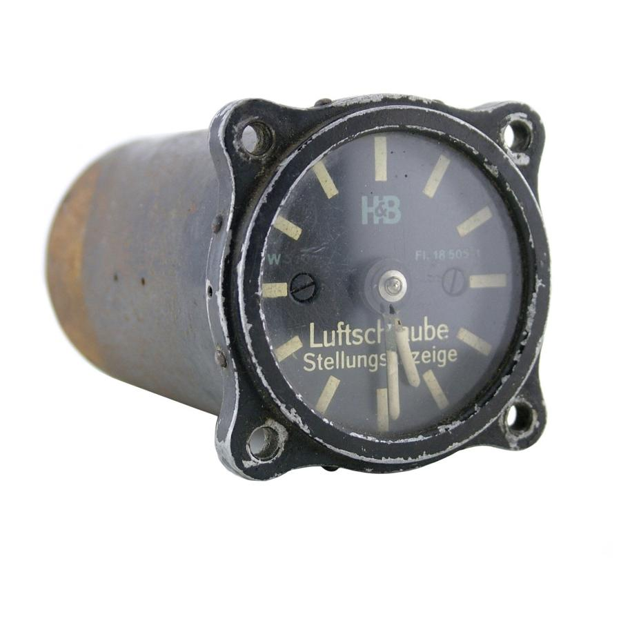 Luftwaffe airscrew pitch cockpit instrument