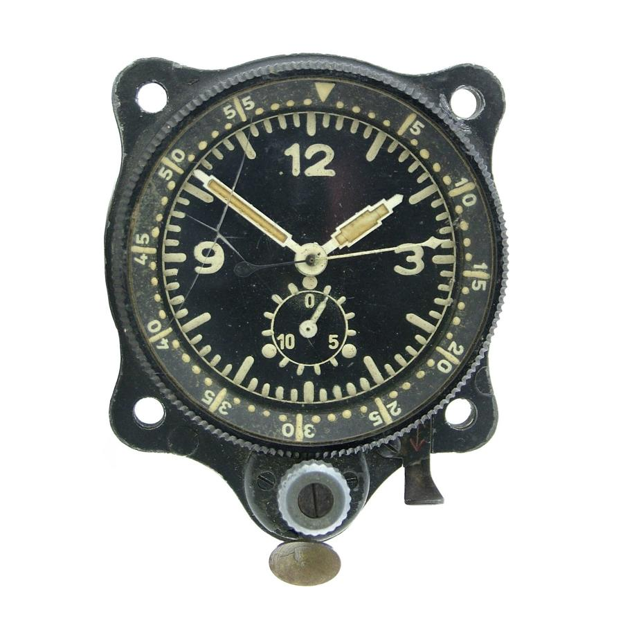Luftwaffe cockpit clock