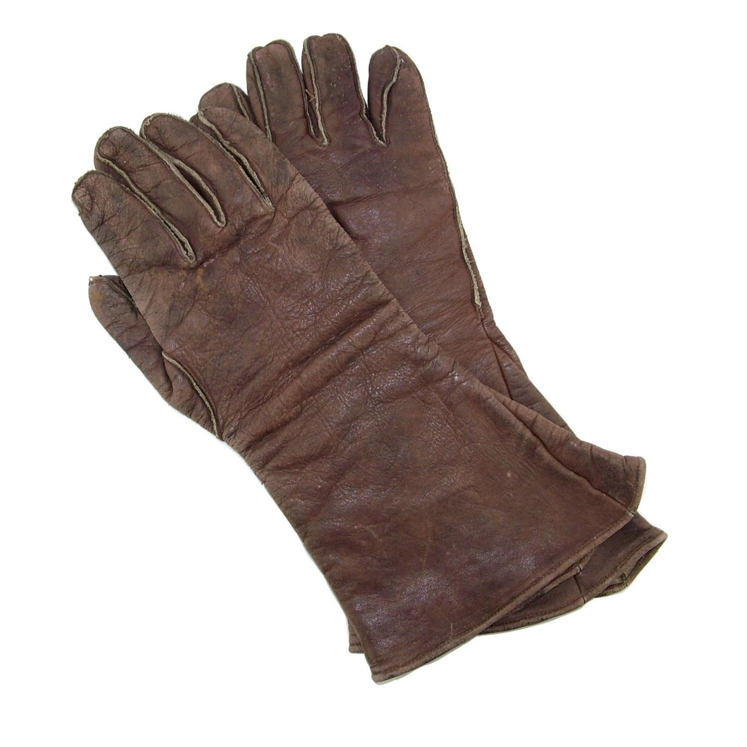 RAF type D flying gloves