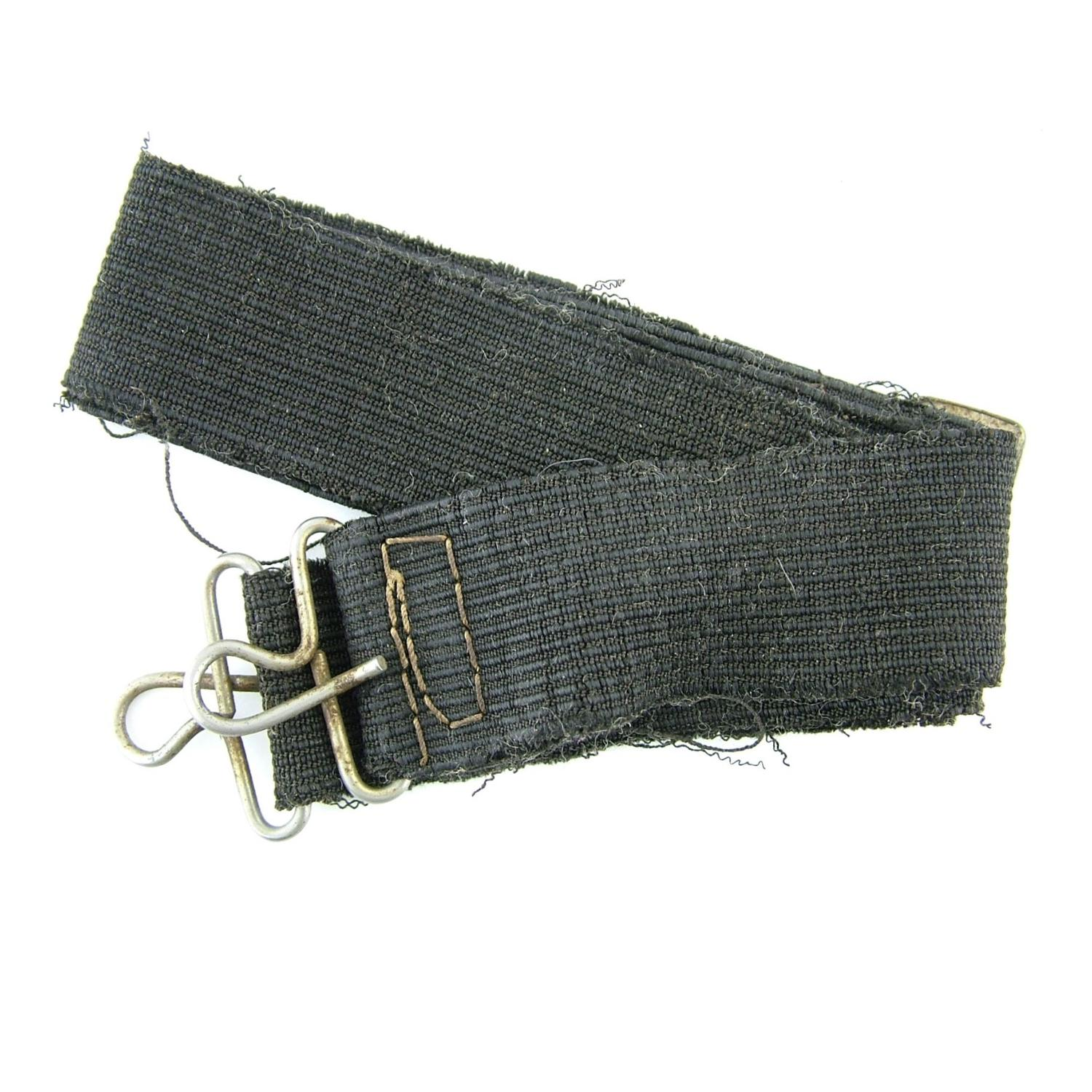 RAF Irvin flying jacket collar strap