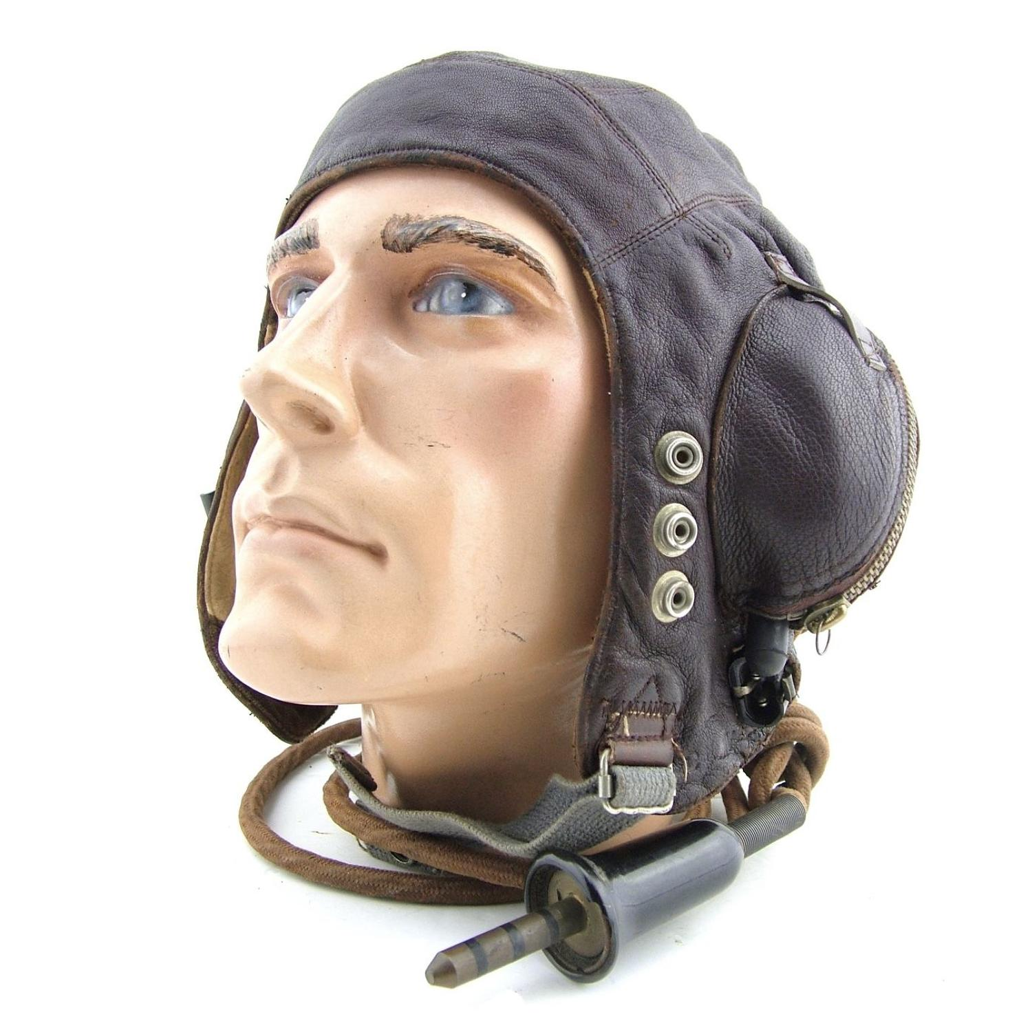 RN / FAA C-type flying helmet