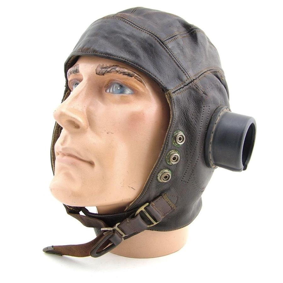 RAF C-type flying helmet, early pattern