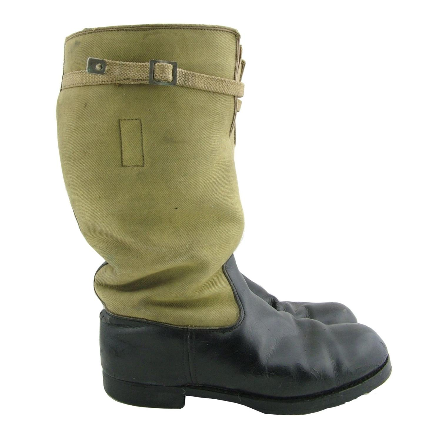 RAF 1939 pattern flying boots, S8