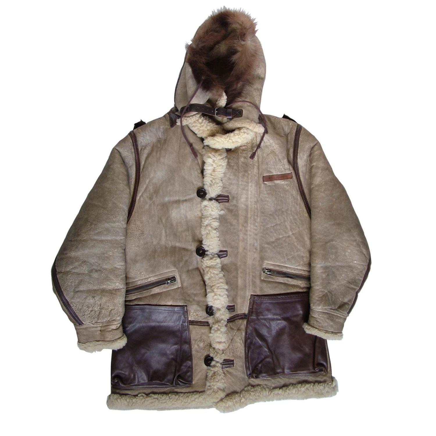 USAAF B-7 winter flying jacket