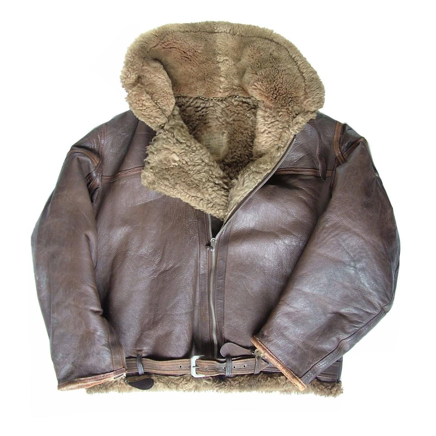 RAF Irvin flying jacket, S8