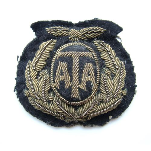 Air Transport Auxiliary cap badge - history