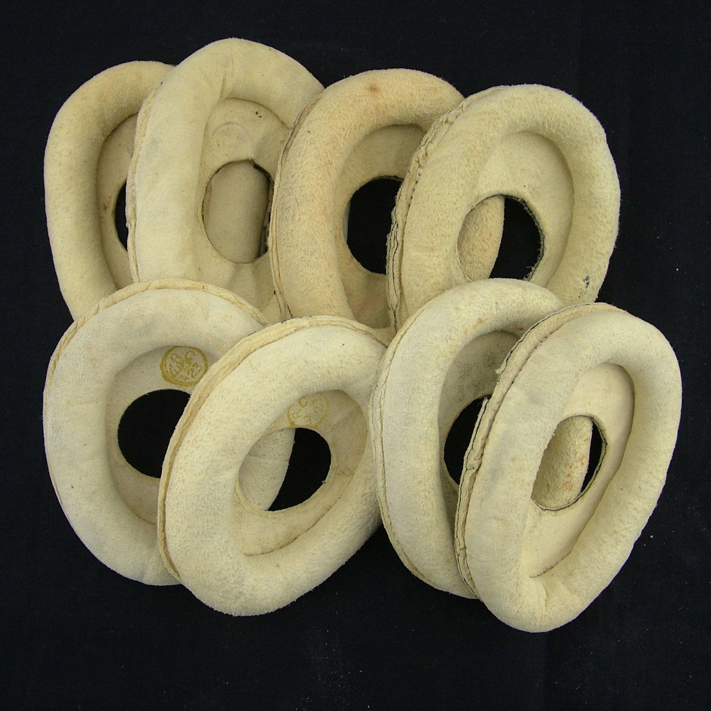 RAF flying helmet chamois 'donuts'