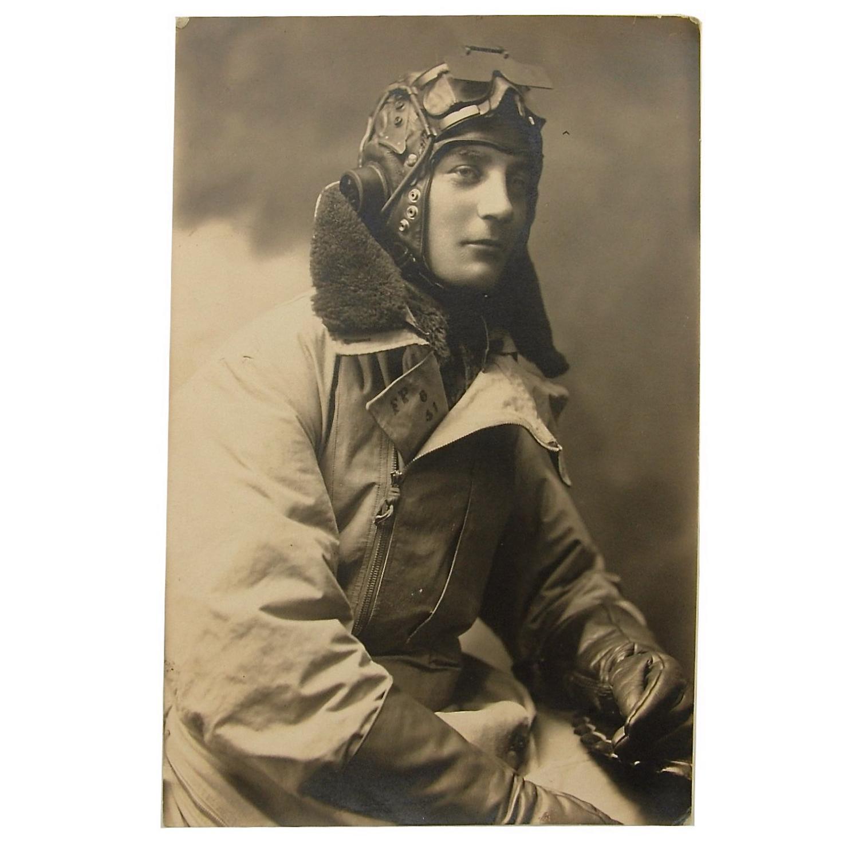 Studio photo c.1942 - RAF airman