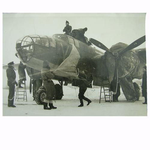 Air Ministry photo - RAF Mitchell bomber