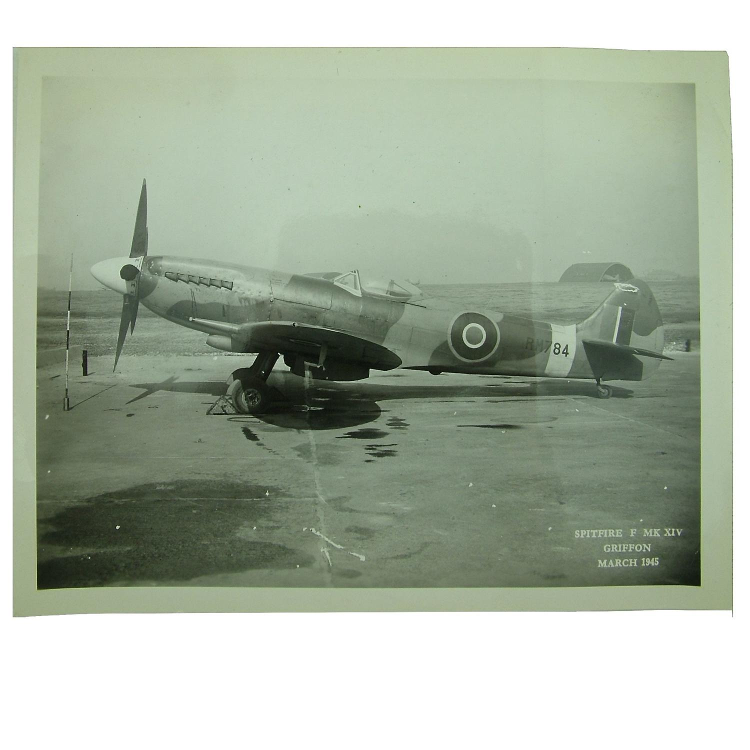 Ministry of Information photo - Spitfire Mk.XIV