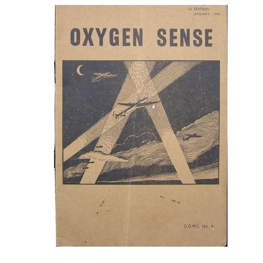 Air Ministry Pamphlet - Oxygen Sense