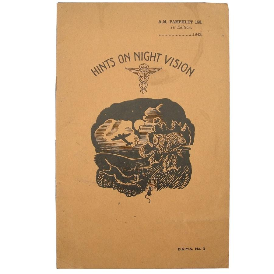 Air Ministry Pamphlet - Hints On Night Vision