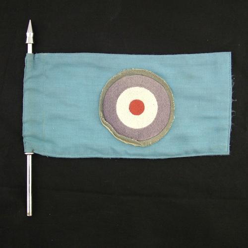 RAF staff car pennant