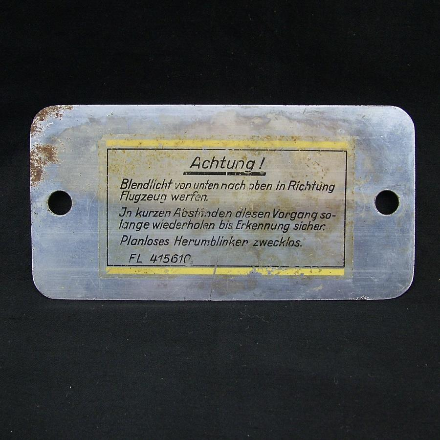 Luftwaffe Blendspiegel