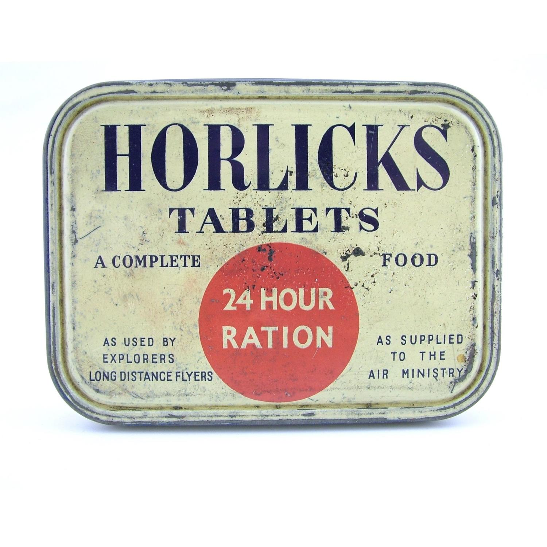 Horlicks 24 hour ration tin