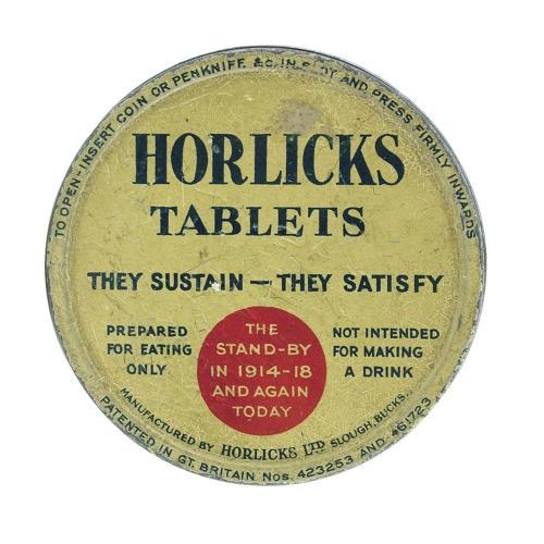 Horlicks Tablets tin