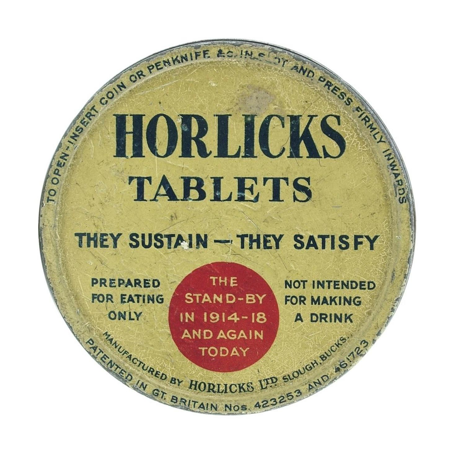 Horlicks Tablets tin
