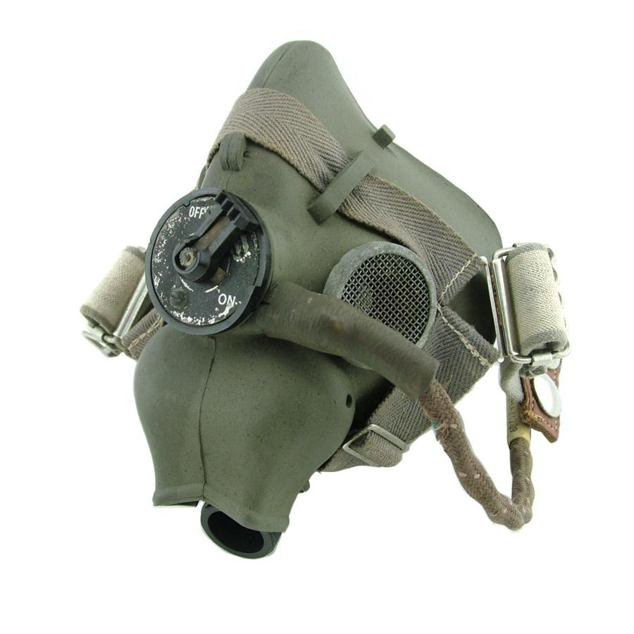 RAF type-H oxygen mask, WW2 dated