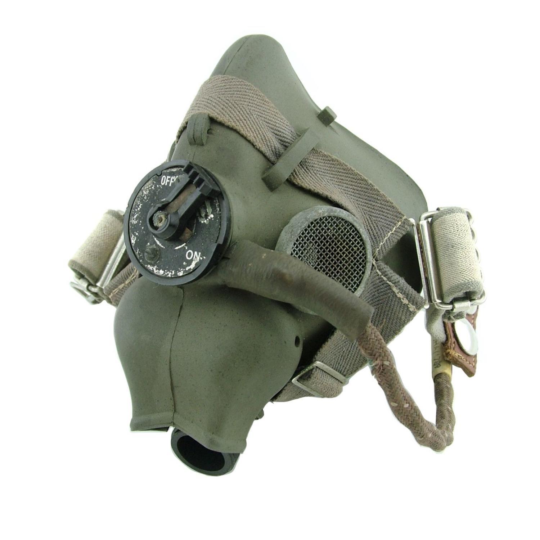 RAF type-H oxygen mask, WW2 dated