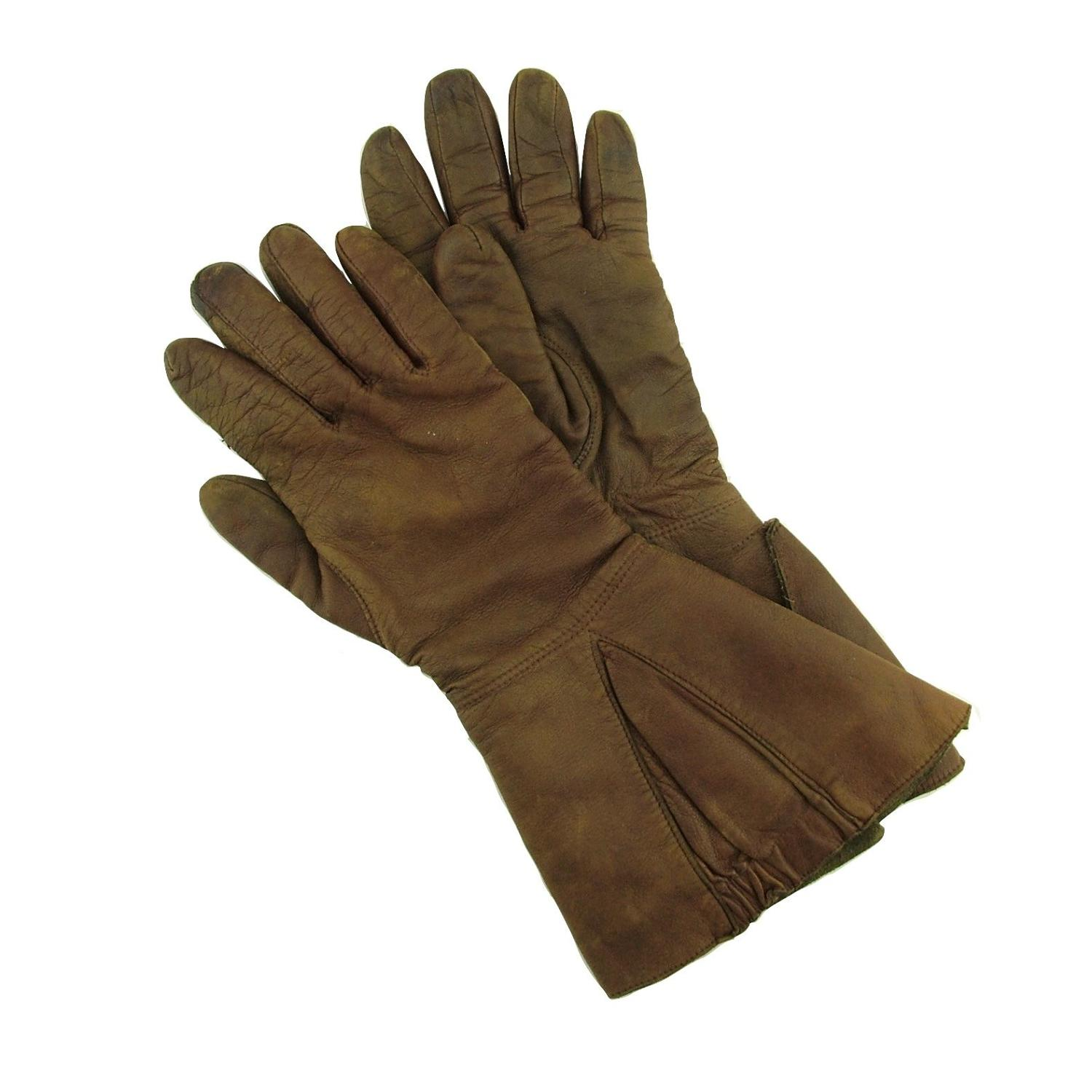 RAF type H flying gauntlets