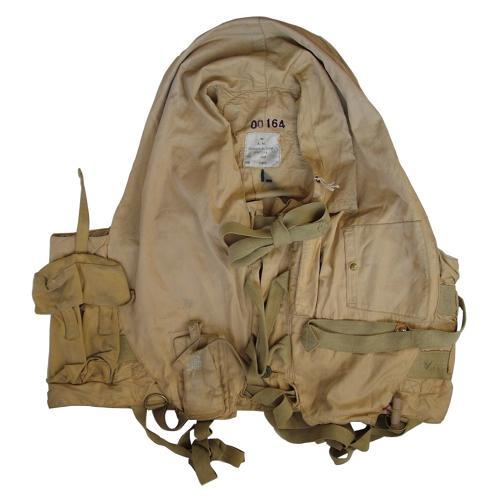 RAF 1941 pattern 'flap type' Mae West c/w dye pack