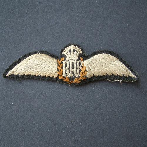 RAF pilot wing - padded