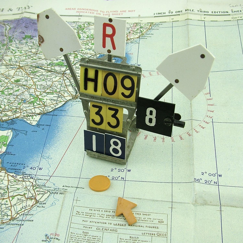RAF operations room raid block & counters