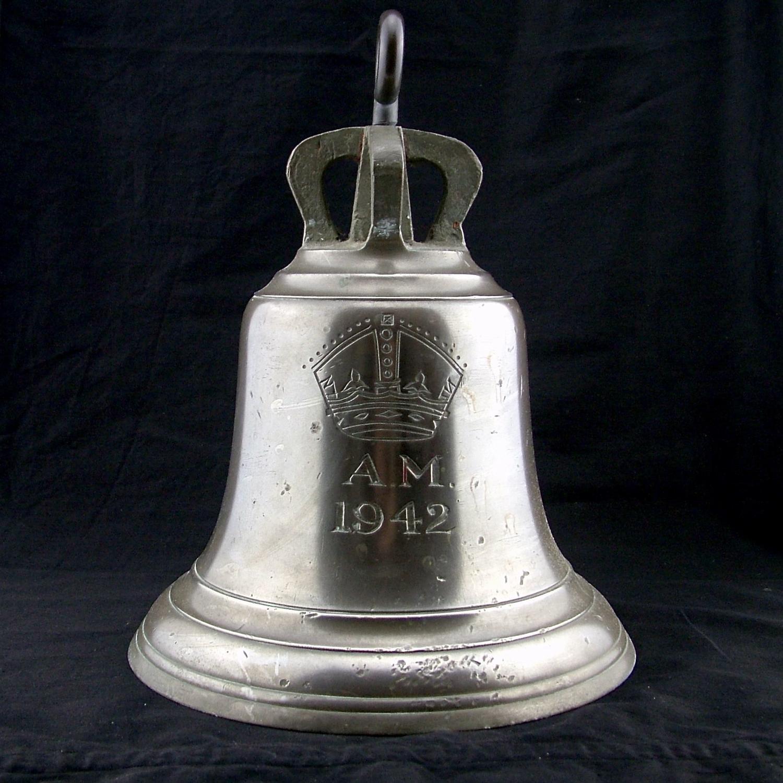 RAF station 'scramble' bell - 1942
