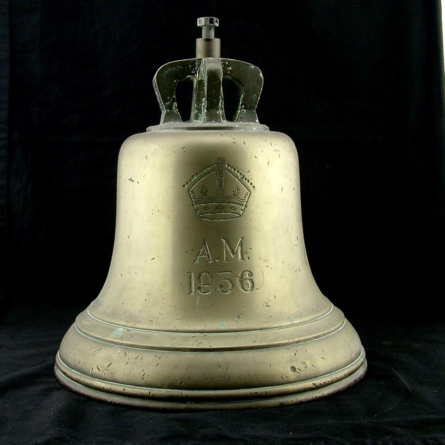 RAF station 'scramble' bell - 1936