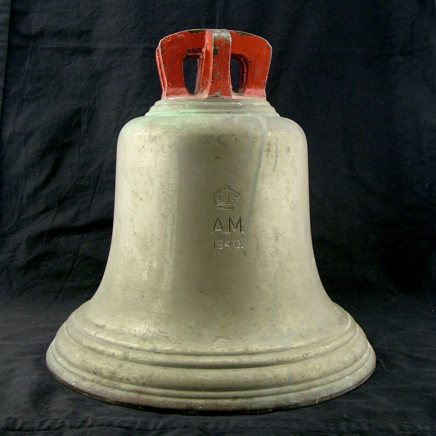RAF station 'Scramble' bell, 1940