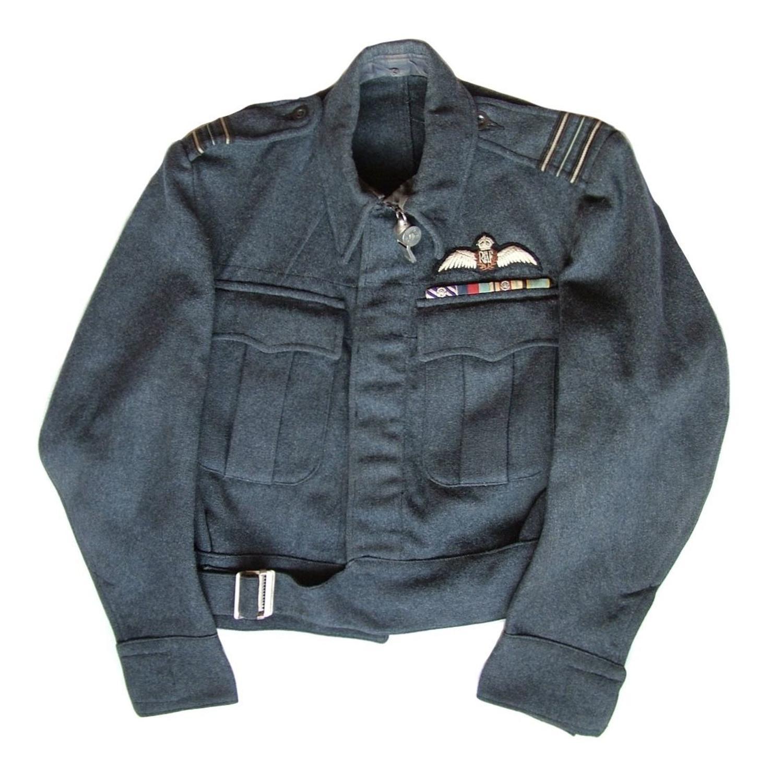 RAF pilot's aircrew blouse - history