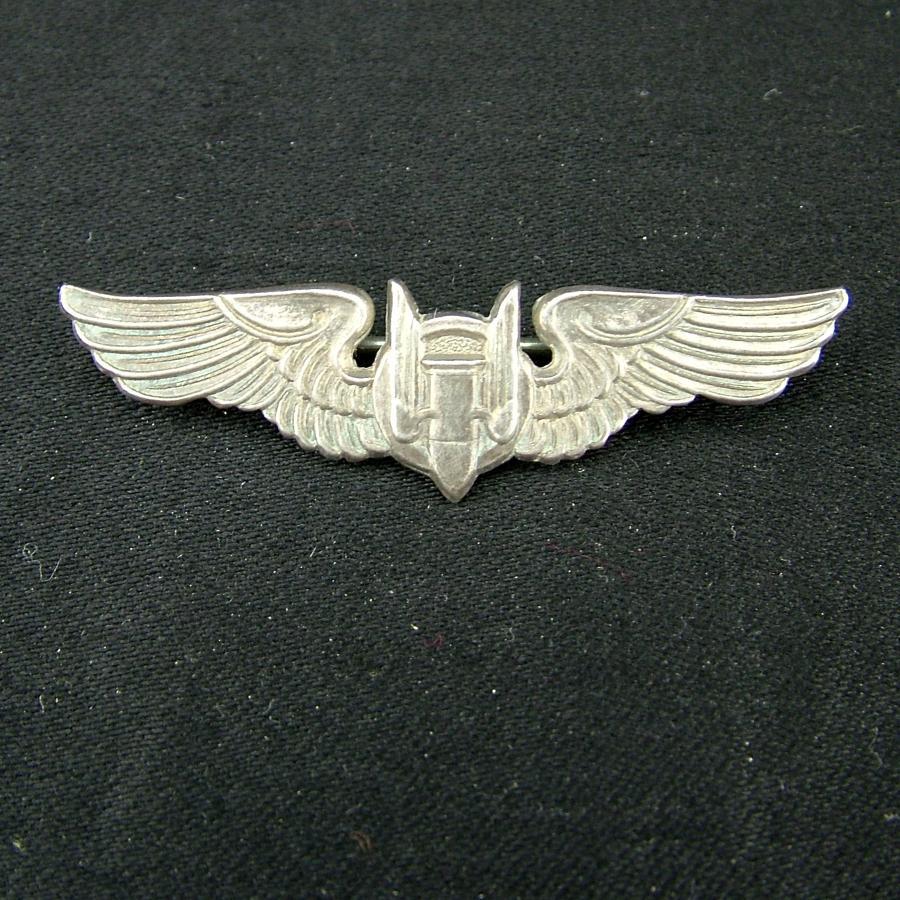 USAAF air gunner shirt wing