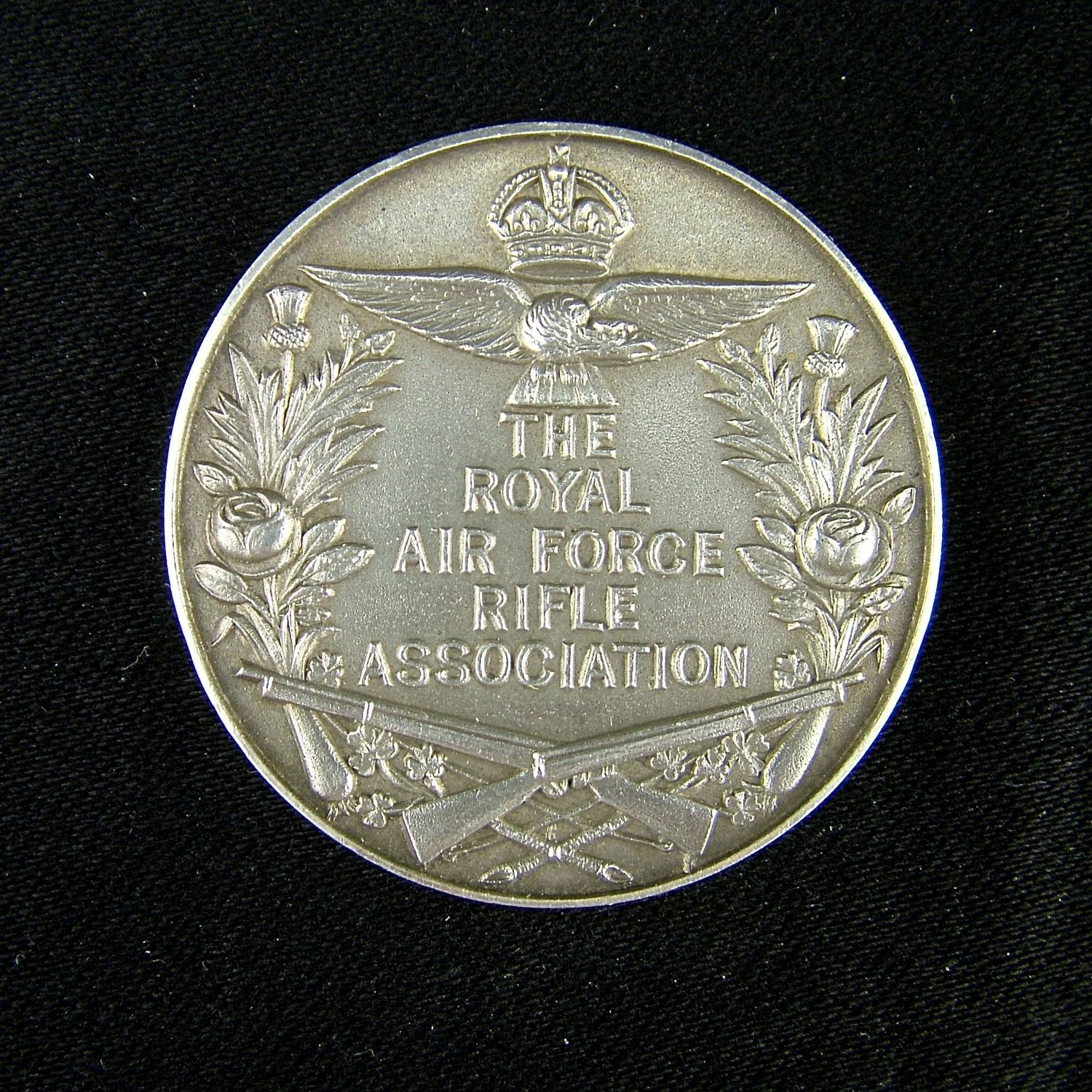 RAF rifle association medal