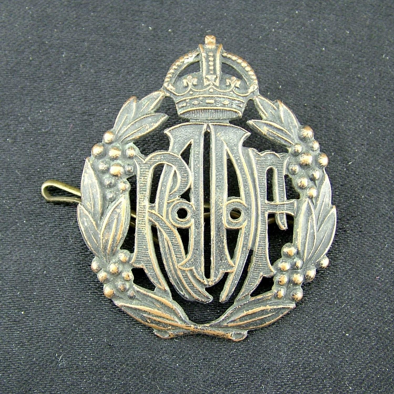 RAAF cap badge