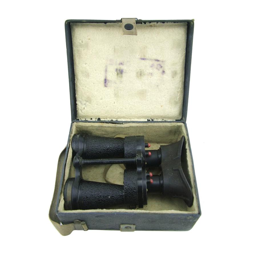 RAF binoculars, Mk.IV, cased