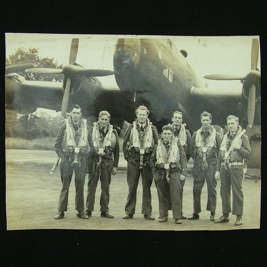 RAF aircrew group photograph