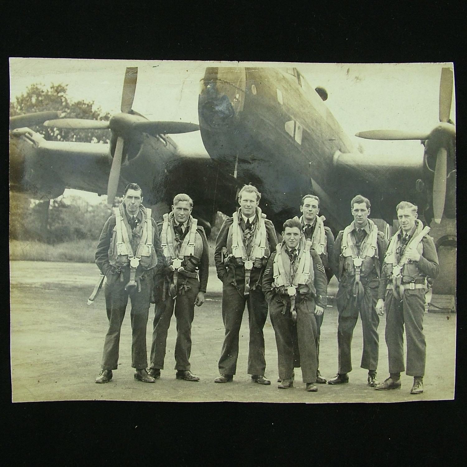 RAF aircrew group photograph