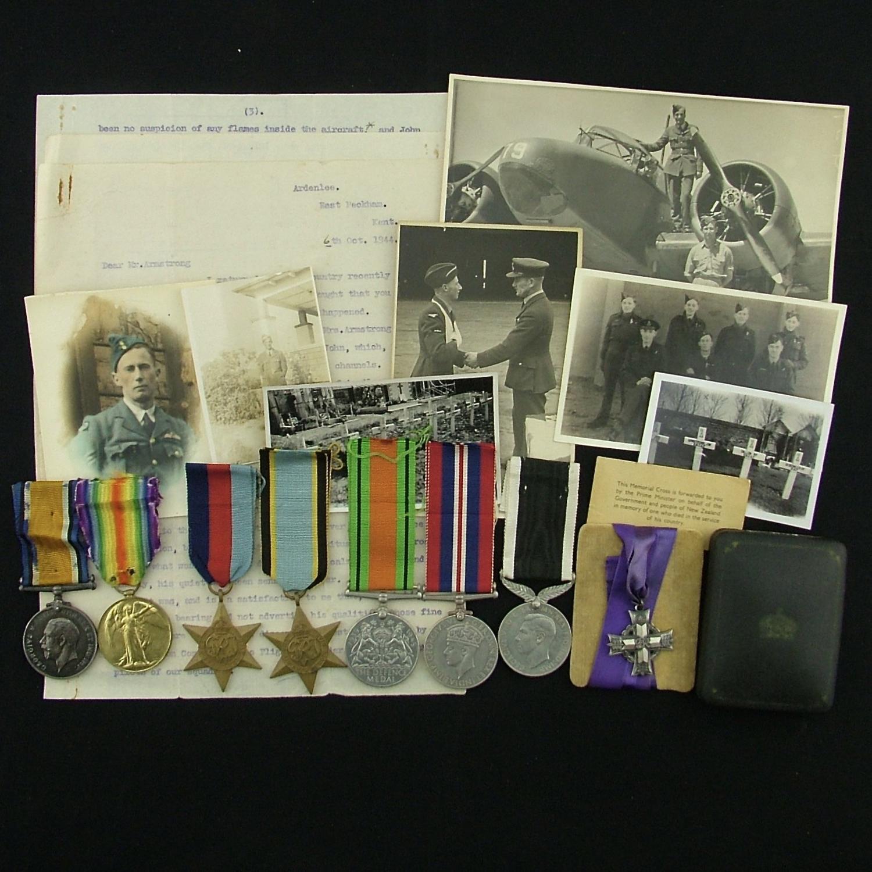 RAF/RNZAF 103 Squadron KIA  medal grouping