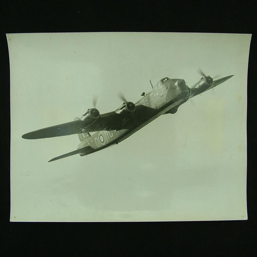 Air Ministry photo - Stirling bomber