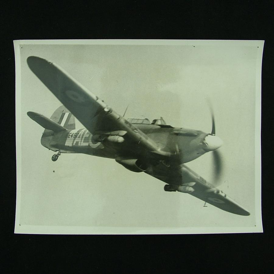 Press photograph - New Hurricane bomber