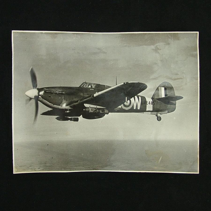 Press photograph - Hurricane fighter bomber