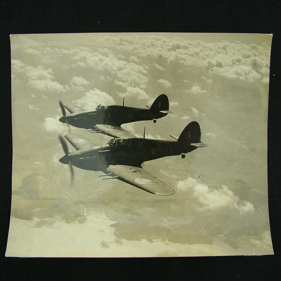 Photograph - Hurricanes in flight