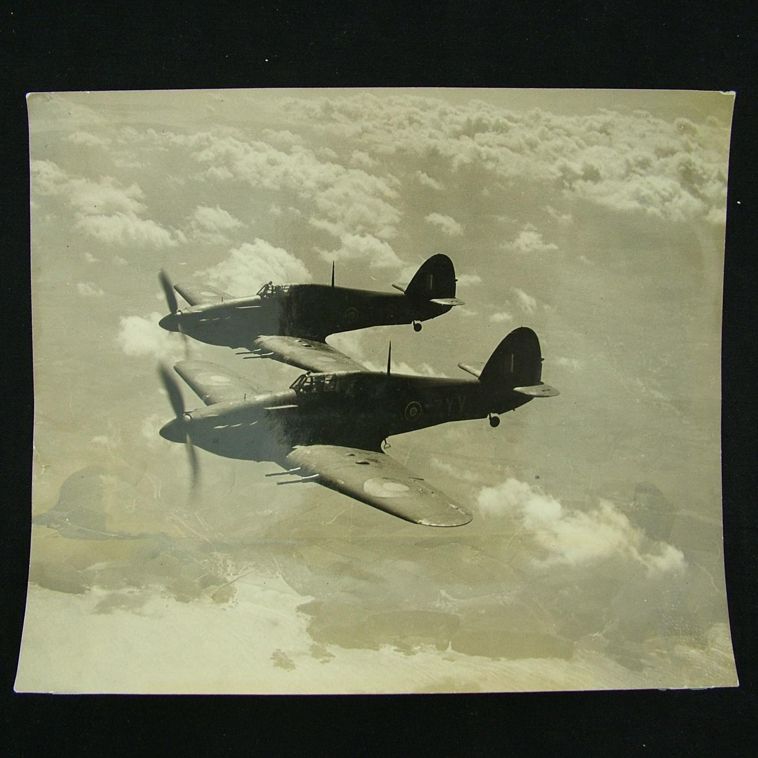 Photograph - Hurricanes in flight