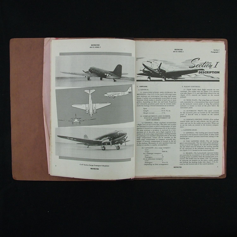 Pilot's Flight Operating Instr. - C-47, C-47A, C-47B, Dakota I & III