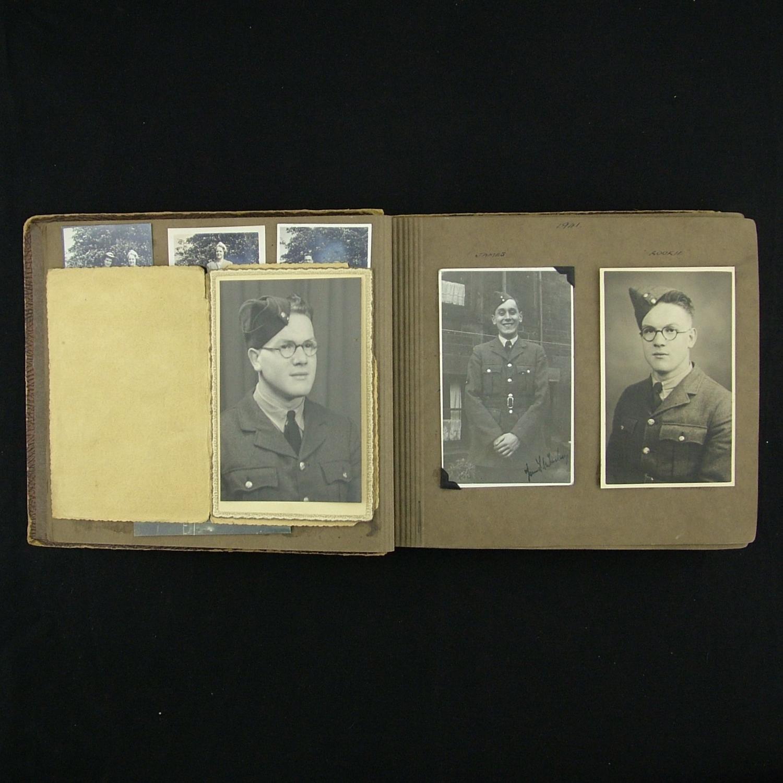 WAAF photograph album