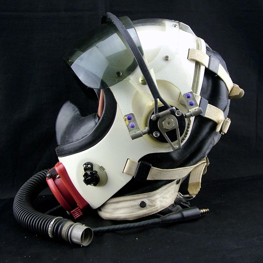 RAF Partial pressure helmet, type E, cased