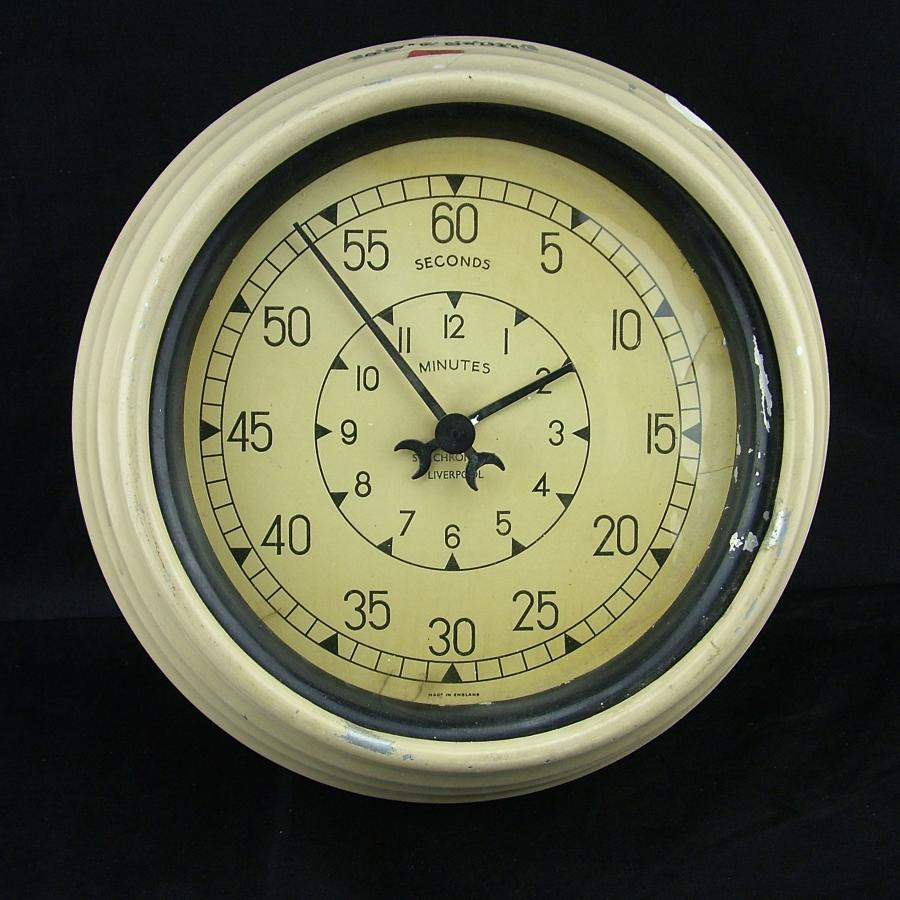 RAE Farnborough timer clock